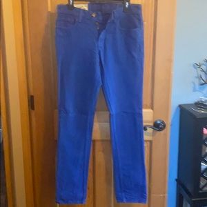 Men's Skinny Hollister Royal Jeans 32 x 34